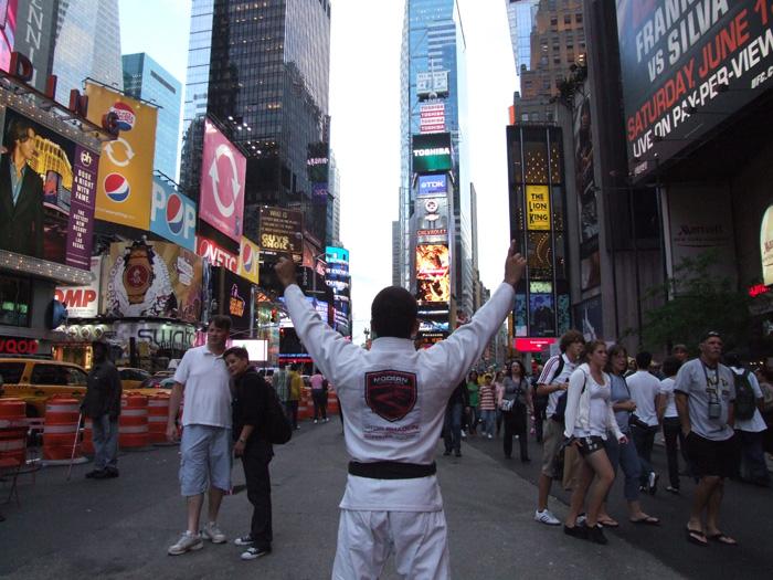 Vitor Shaolin ganhou Nova Iorque com mseu Jiu-Jitsu. Foto: Divulgação