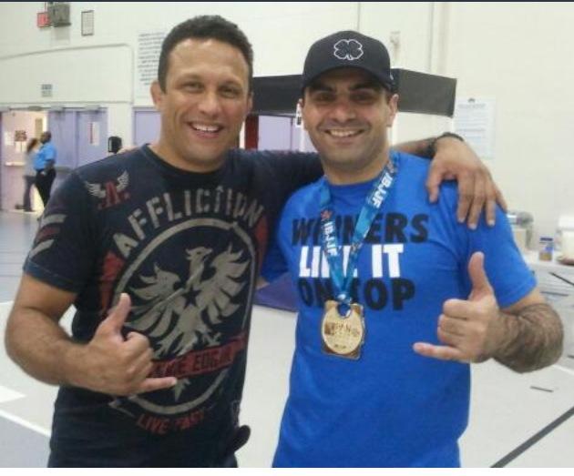 Renzo Gracie and Sahid