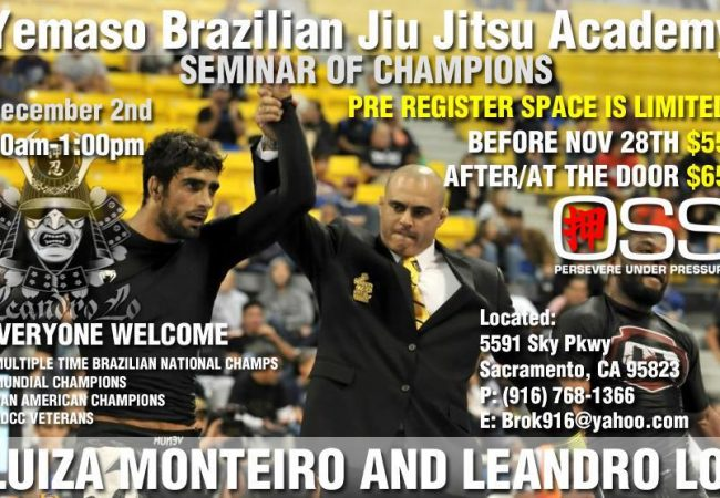 Two Chances to Attend Seminar with Champion Couple in Northern California!