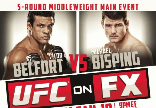 Ginásio do Ibirapuera in São Paulo to Host UFC on FX: Belfort vs. Bisping