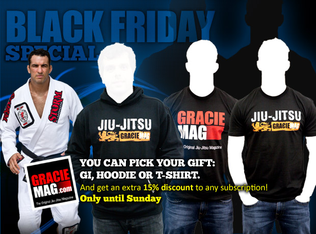 Pick Your Gift: Gi, Hoodie or T-Shirt + 15% Off