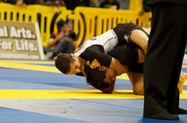 The 2012 World No-Gi Championship, in their view