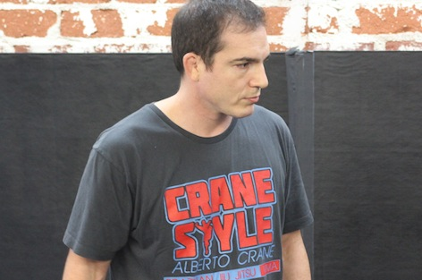 MMA Tips with Alberto Crane: Pass Guard, Get the Choke