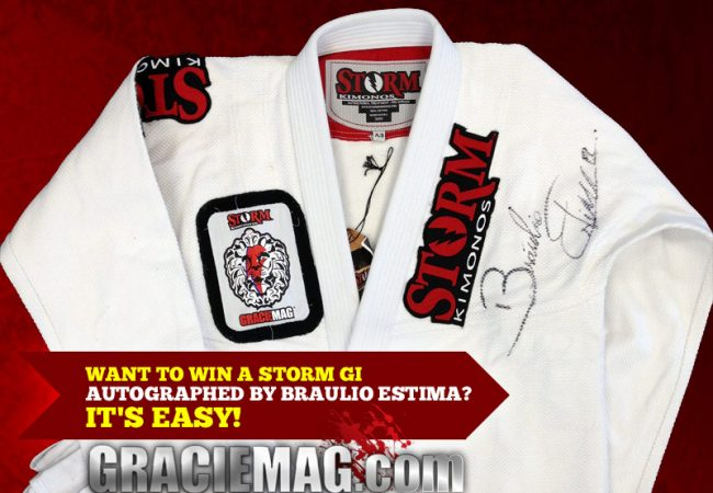 Want to win a Storm gi autographed by Braulio Estima?