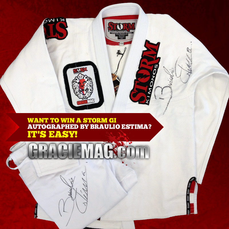 Care for an exclusive autographed Storm Gi?