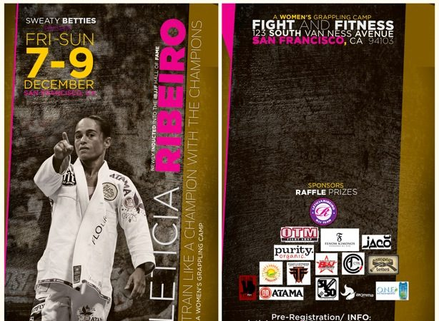 Ladies: Leticia Ribeiro's Women's Grappling Camp is here!