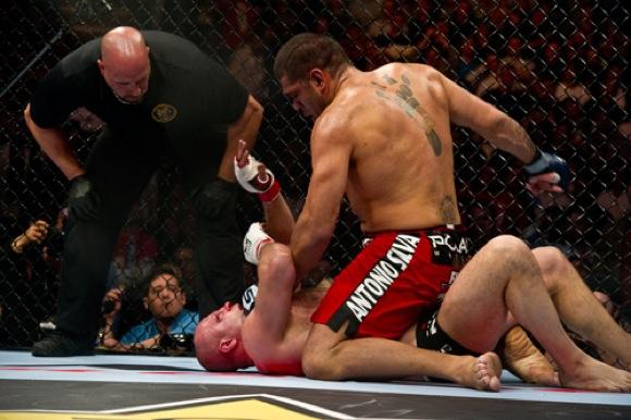 To you, is Antonio Pezão the underdog against Overeem at UFC 156?