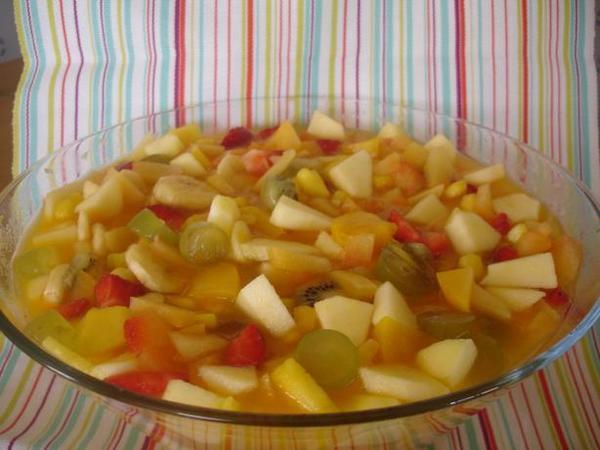 Vai uma salada de frutas da Dieta Gracie para o domingo?