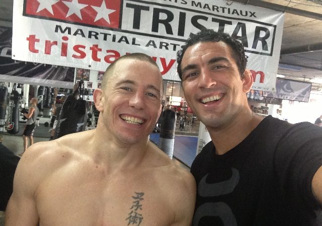 """Bráulio and training with GSP: """"He's going to win by ground and pound"""""""