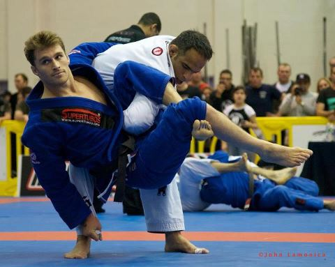 Roberto Tussa and Clark Gracie Heat up San Diego Abu Dhabis Trials