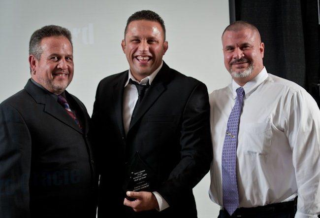 Renzo Gracie Receives Legend Award