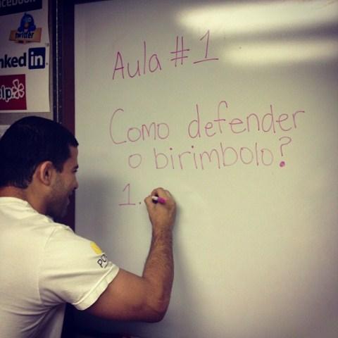 Augusto Tanquinho ajudou a lapidar o chão de Ben Henderson. Foto: Arquivo Pessoal