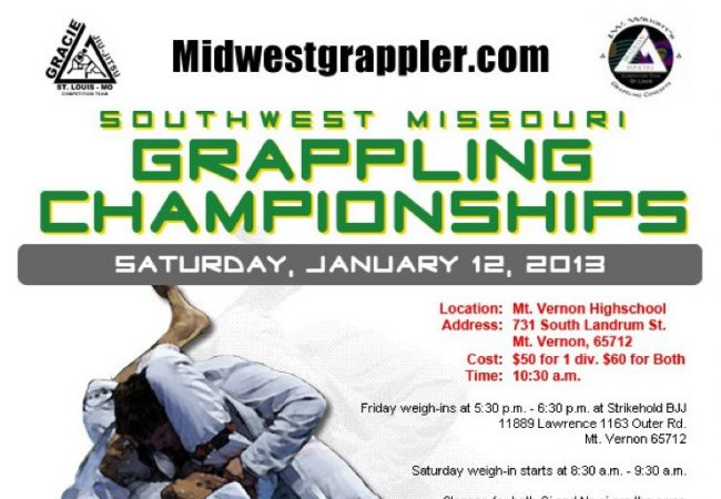 JW Wright invites you to the SW Missouri Grappling Championships