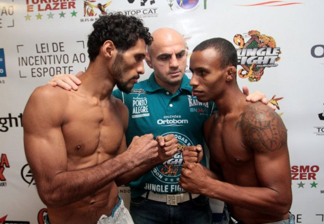 Mangueira vs Rocinha em clima de paz no Jungle Fight