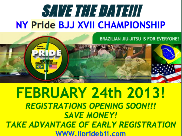 NY Pride Championship scheduled February 24th