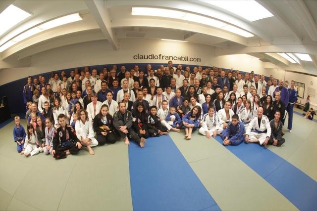 Franca BJJ belt promotion class of 2012