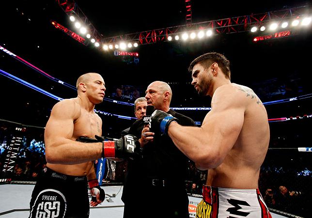 UFC 158: GSP Gets Nick Diaz, MacDonald Rematches Condit