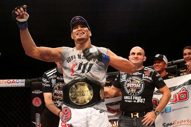 Rápido e explosivo, Jungle Fight 47 define dois campeões do Jungle Belt
