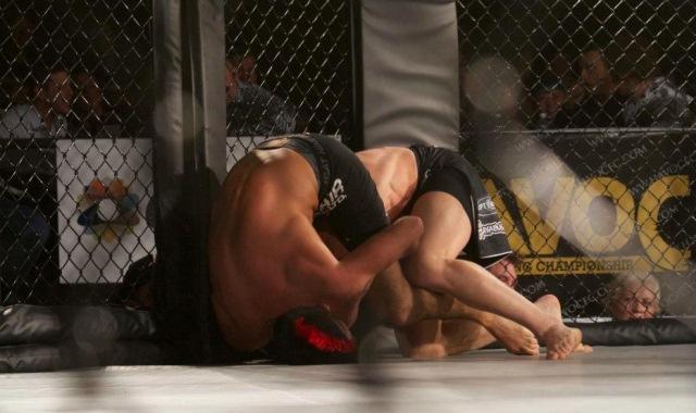 Veja o triângulo voador que funcionou no MMA