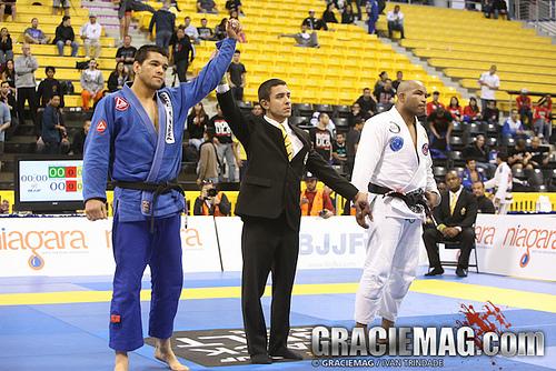 Roberto Tussa e Bruno Bastos na IBJJ Pro League