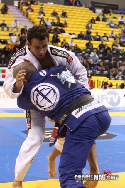 Romulo Barral vs Andre Galvao na final do IBJJ Pro League