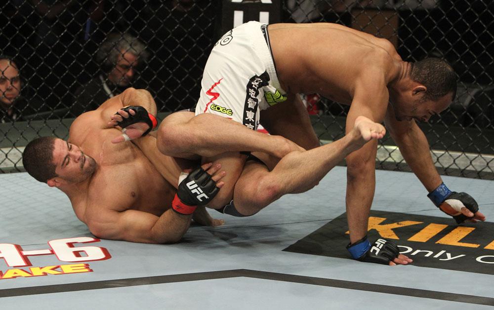 Toquinho fez do jiu-jitsu sua vida. Foto: Zuffa LCC / UFC
