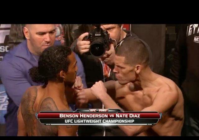UFC: Nate Diaz quase perde para a balança, mas quer guerra com Ben Henderson