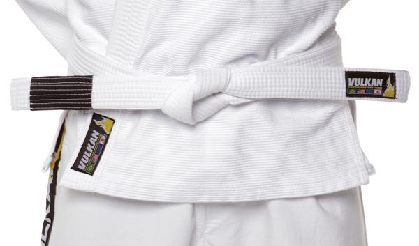 A faixa-branca é a base para uma jornada sadia no Jiu-Jitsu. Foto: Divulgação