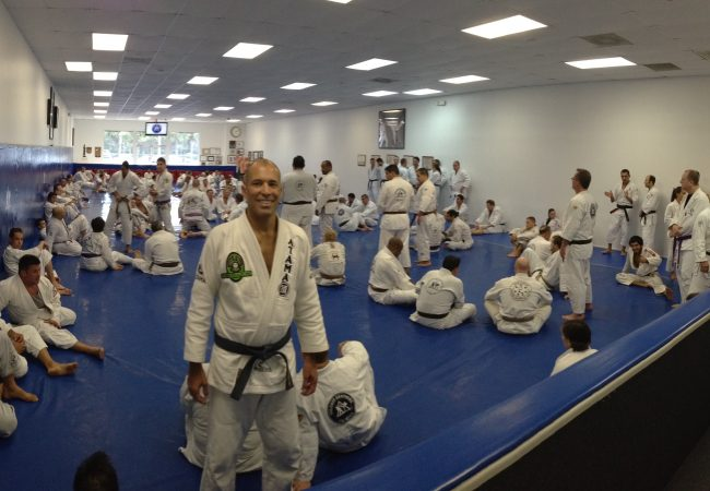 Royce Gracie at Valente Brothers' Gracie Miami