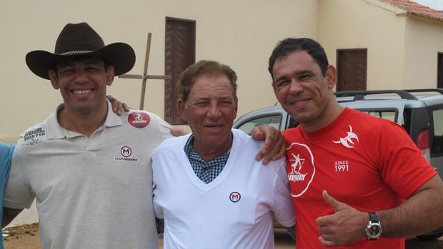 Antonio Rodrigo Nogueira's Re-encounter with Truck Driver Who Ran Him Over