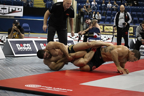 Sunday's Match: André Galvão vs. Rousimar Toquinho at ADCC 2011