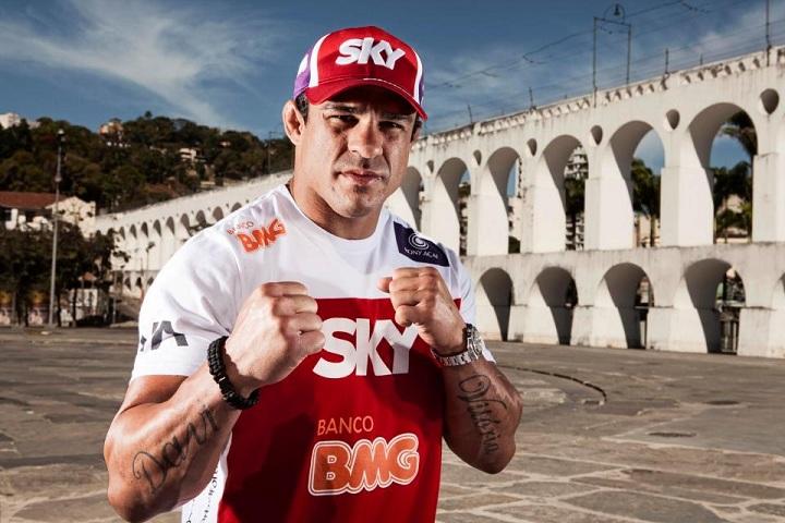 Belfort animado para lutar no Brasil. Foto: UFC/Divulgação