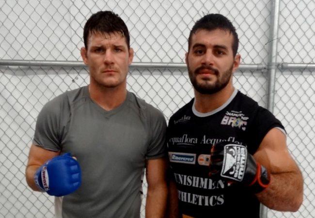 UFC on FX 7: Michael Bisping Praises Jiu-Jitsu Trainer Ricardo Abreu