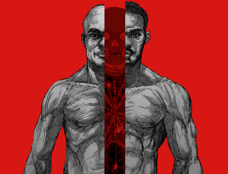 Here's the Only Drawing of Jon Jones and Anderson Silva You'll Need to See Today
