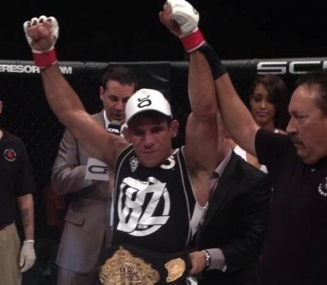 Luiz Buscapé Wins Championship Fighting Alliance Belt