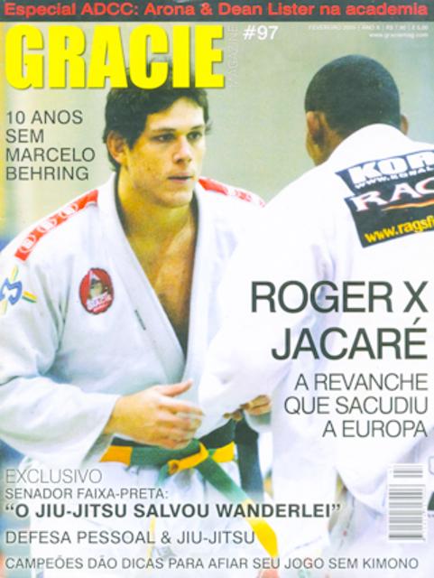 Roger vs. Jacare, in 2005