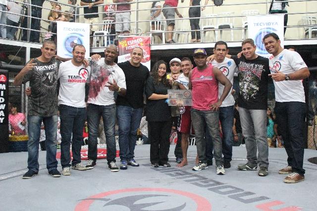 Circuito Team Nogueira de MMA foi repleto de finalizações. Foto: Diogo Schöpke