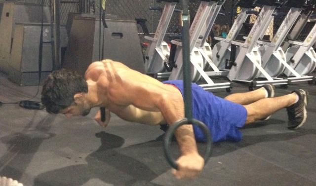 Marcus Bochecha treina forte para a seletiva, em San Diego. Foto: Arquivo Pessoal