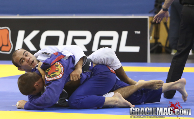 Bernardo Faria imposed his game over Calasans Jr