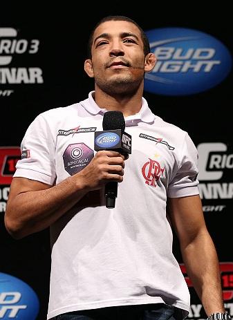 José Aldo esta pronto para defender seu cinturão. Foto: Divulgação