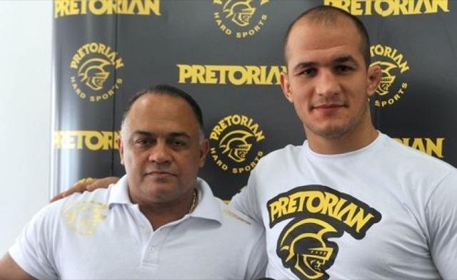 Luiz Dorea e o ex campeao do UFC Junior Cigano Foto Divulgacao site Cigano