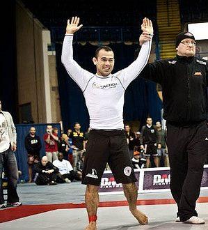 Marcelo Garcia durante vitoria no ADCC 2011