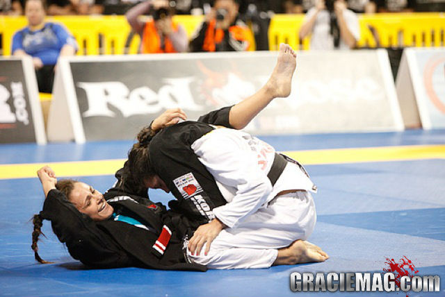 Michelle Nicolini was the big name among women at the Gramado WPJJC Trials