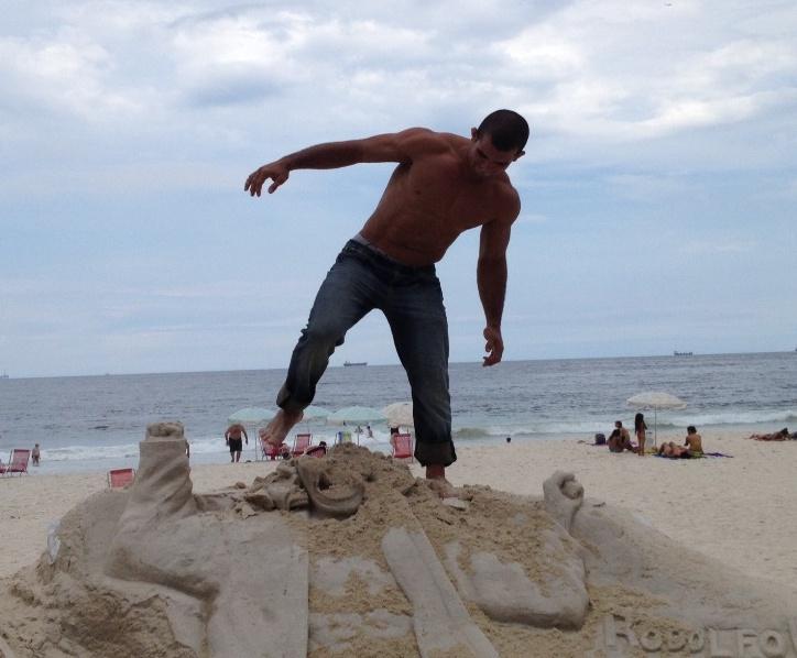 Rodolfo Vieira em Copacabana