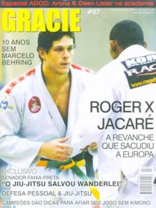 Roger Gracie vs Ronaldo Jacaré, em 2005.