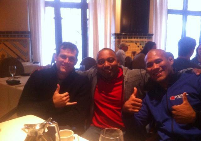 Strikeforce: Roger Gracie e Ronaldo Jacaré se reencontram em clima de amizade