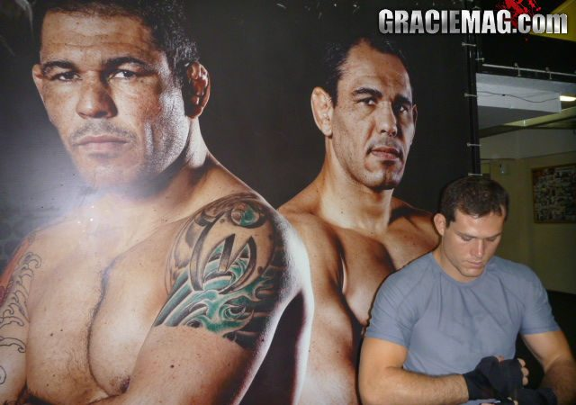 'Minotouro' Nogueira Praises Roger Gracie's Takedowns, Confidence in Pre-Strikeforce Training
