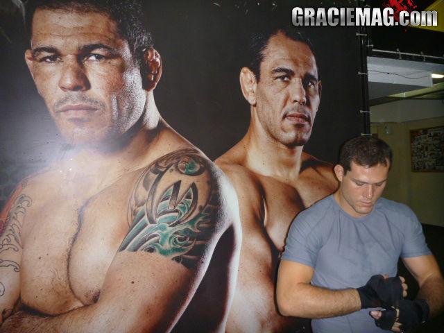 Roger Gracie no Rio de Janeiro treinando para Strikeforce