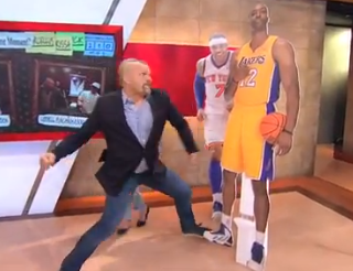 VIDEO: For All Frustrated Los Angeles Lakers Fans, Here's UFC's Chuck Liddell Punching Dwight Howard