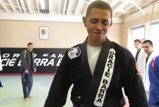 Barack Obama Jiu-Jitsu